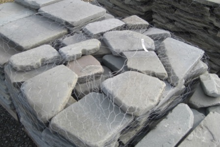 "Bluestone 1""-2"" tumbled pieces"