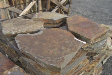 "Montana slate 1""-2"" stepping stones"